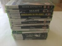 Xbox 360 Games Bundle Joblot x14 Action - Fallout Halo Mass Effect Call Of Duty