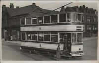 Sheffield Trolley Bus      Shops     people    Rotherham           CB.656