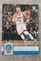 2016-17 Panini Excalibur Lord Domantas Sabonis #126 Rookie basketball card