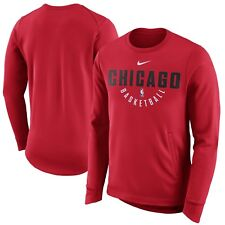 Nike Chicago Bulls Practice Fleece Performance Sweatshirt 858820-657: Size XLT