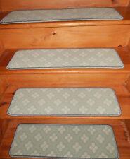 13 Step 9'' x 30'' +1 Runner 29'' x 102'' Tufted carpet Wool Woven Stair Treads.