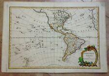 AMERICA NEW ZEALAND BONNE LATTRE 1780 RARE CYRILLIC EDITION LARGE ANTIQUE MAP