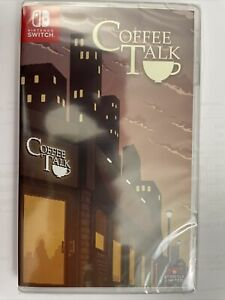Coffee Talk Nintendo Switch Numbered Copy 1525 Of 2500