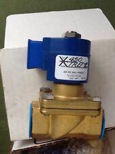 "(Two) 2 Xtreme 450 valves 2-way N.C. Solenoid Valve 3/4"" NPT 450 PSI 12 volts DC"