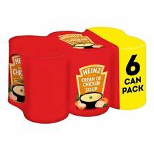 Heinz crème de soupe au poulet 400 g x 6 boîtes en vrac acheter UK Stock Livrais...
