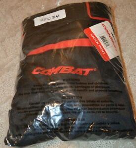 Men's Combat Baseball Softball Pants Size 2XL Black with Red Accents - New