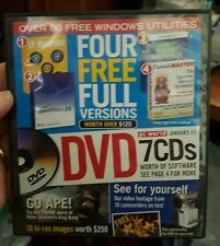 PC World January 06 Demo disc - PC GAME- FREE POST