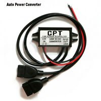 DC Converter Module 12V to 5V Micro Duble USB Output Power Adapter Car Charger