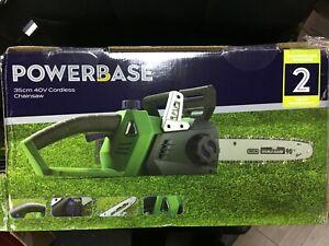 Powerbase 35cm 40V Cordless Chainsaw