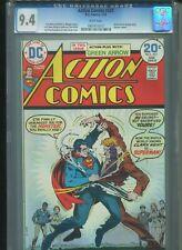 Action Comics #431 CGC 9.4 (1974) Superman Batman Green Arrow White Pages