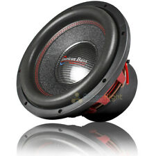 """Competition 12"""" Subwoofer 3000 Watts Max Dual 4 Ohm American Bass Hawk 1244"""