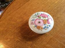 Wedgwood Meadow Sweet bone china fluted box - EXCELLENT!!