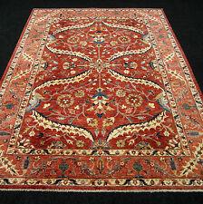 Orient Teppich Ziegler 263 x 200 cm Handgeknüpft Rotrost Beige Blau Carpet Rug