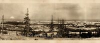 "1913 Scappoose Oregon Vintage Panoramic Reprint Photo 40"" Long"