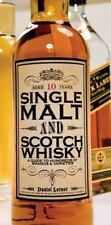 Single Malt and Scotch Whisky: A Guide to Hundreds of Brands and Varie-ExLibrary