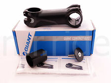 """GIANT Contact OD2 Stem 100mm +/- 8 degree Black 1-1/4"""" and 1-1/8"""" spacer"""