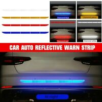 Auto Car Reflective Warn Strip Tape Bumper Safety Stickers Decal Car Accessories