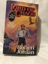 Lord Of Chaos  by Robert Jordan WHEEL OF TIME Book 6 Paper Back