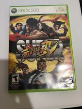Xbox 360 : Super Street Fighter IV VideoGames🔥