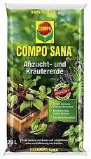Compo Sana 20 l Anzuchterde Samen Stecklinge Saatgut