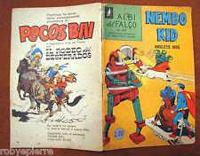 NEMBO KID Albi del Falco ORIGINALE 235 del 1960 lire 30 L superman Amuleto Indù