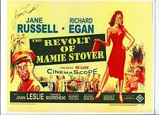 Joan Leslie The Revolt Of Mamie Stover Signed Autograph Photo