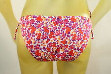 HURLEY WOMAN'S PINK FLORAL GRAPHIC BIKINI BOTTOM SEPARATE size X-Large/XL