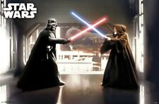STAR WARS - FIRST DUEL - CLASSIC MOVIE POSTER - 22x34 - VADER 17595