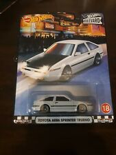2020 Hot Wheels Premium *Boulevard* Mix 4* Toyota AE86 Sprinter Trueno*