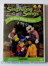 Sing Along Songs Disney World Mickey Music Karaoke DVD Fort Wilderness Campout