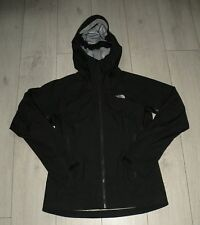 """The North Face """"M"""" Gore-tex Active Womens Black Jacket Ladies Hooded Jacke"""