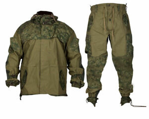 Russian Special Forces Mountain BDU Uniform Suit GORKA-3 Digital Flora Camo