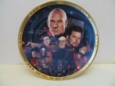 """STAR TREK/Hamilton Collection The Best of Both Worlds 8"""" Collector Plate w/COA"""
