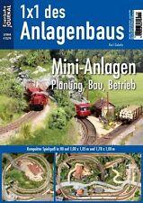 Eisenbahn Journal - Mini-Anlagen: Planung, Bau, Betrieb - 1x1 des Anlagenbaus