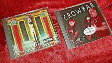 "Brand new/factory sealed Crowbar 2 CD lot ""Crowbar"" & ""Live + 1"""