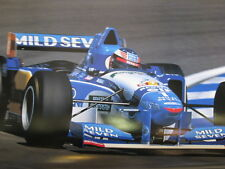 Poster Mild Seven Benetton Renault B195 1995 #1 Michael Schumacher (GER)
