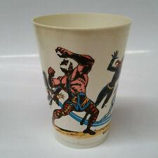 1977 7-11 Seven Eleven Marvel Comics Plastic Slurpee Cup The Champions