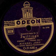 MICHAEL JARY TANZ-ORCH. Zwillinge / Waage      Schellackplatte 78rpm       S8048