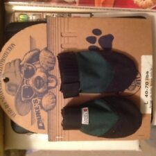 Set of three  NEOPRENE DOG BOOTS SHOES - 40-70 lb. LARGE - pair and a spare