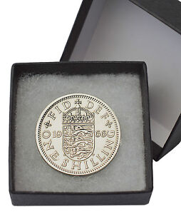 BOXED POLISHED SHILLING COINS ALL YEAR 1947 TO 1966 ENGLISH AND SCOTTISH PRESENT