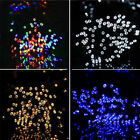 100-200 LED Solar Fairy String Garden Decoration Lights Outdoor Xmas Party Lamp