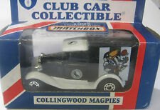 Matchbox 1/64 AFL  Australia  Aussie Collingwood Magpies