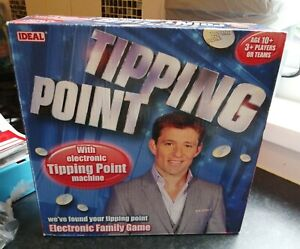 TIPPING POINT ELECTRONIC GAME BASED ON THE TV GAME SHOW COMPLETE IDEAL LOVELY