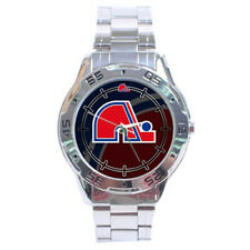 Quebec Nordiques NHL Stainless Steel Analogue Men's Watch Gift