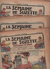 Semaine de Suzette 36e année. 1939-1940.  Année complète du n°1 au 27  (6 juin)