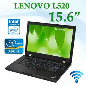 "Lenovo Laptop Thinkpad L520 15.6"" Core i3 2nd Gen 4GB Ram 128GB SSD Windows 7"