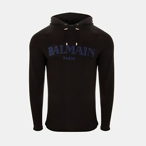 Balmain Oversized Hoodie With Blue Logo RRP £435 *SOLD OUT WORLDWIDE🌍*