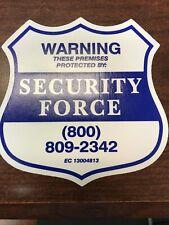 10pcs Home Alarm Security Burglar Decals Warning Signs Window Door Stickers