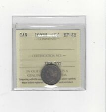**1883H**, ICCS  Graded Canadian,  10  Cent, **EF-40**