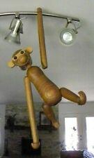 Vintage Kay Bojesen Design - Danish Teak Articulated Monkey